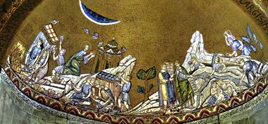 XIII в. Венеция. Византийская мозаика собора  Святого Марко