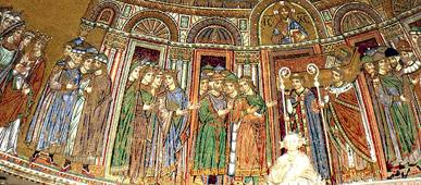Мозаики собора Сан-Марко. Венеция