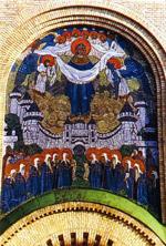 Н.К.Рерих. Покров Богородицы (мозаика). 1906