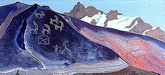Н.К.Рерих. Камни Лахула.1932