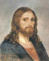 Фрагмент картины Иванова. Явление Христа народу.