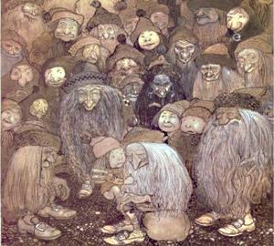 Очень многие факты говорят в пользу того, что «Чудь белоглазая» — не мифический народ, она действительно существует, видимо, как-то приспособившись к жизни под землей. Зафиксированы рассказы людей, встречавшихся с выходцами из загадочного народа. Русский ученый А. Шренк беседовал со многими самоедами, и вот что рассказал ему один из них: «Однажды, — продолжал он, — один ненец (то есть самоед), копая яму на каком-то холме, вдруг увидел пещеру, в которой жили сирты. Один из них сказал ему: «Оставь нас в покое, мы сторонимся солнечного света, который озаряет вашу страну, и любим мрак, господствующий в нашем подземелье…».