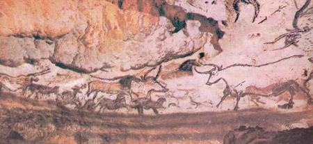 Рисунки в пещере Ляско