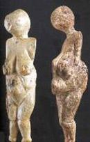 Вырезанные из кости, рога или мягкого камня небольшие по размерам  скульптурные фигурки женщин, обнаруженные в поселение Костенки, около Воронежа.