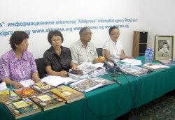 Сотрудники музея Рериха. Бишкек