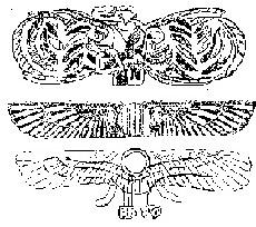 Предметы из моржового клыка. Эти распростертые крылья, сами собой наводят на мысль о древних летательных приспособлениях.