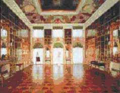 Картинный зал Большого Петергофского дворца