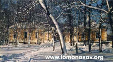 Музей-заповедник Ораниенбаум, апрель 1998 года. Утро приезда выставки
