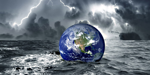 Вслед за исландским вулканом ученые обещают всемирный потоп.