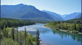 Алтай, река Катунь