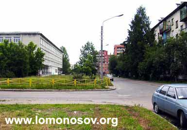 Город Ломоносов. Швейцарская улица