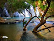 Водопад Навахо в Аризоне.