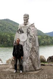 Памятник Н.К.Рериху и его автор