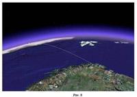 Направление на древний Северный полюс