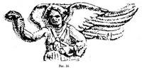 Рис. 16. Лик Мары с этрусского саркофага