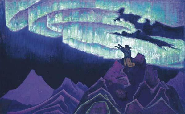 Н.К. Рерих. Моисей-Водитель. Серия Знамена Востока.1925-1926