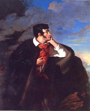 Валентий Ванькович. Адам Мицкевич на скале Аюдаг. 1827-1828