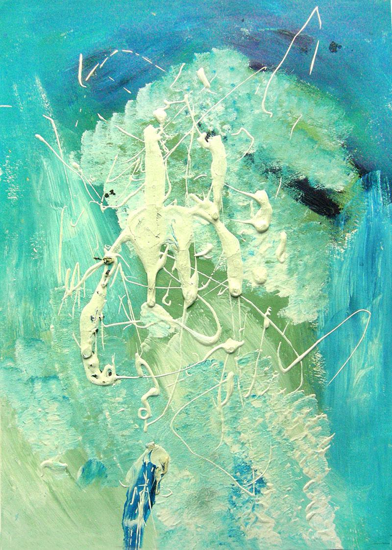 Абстрактные композиции: Даша, 13 лет. Сон.