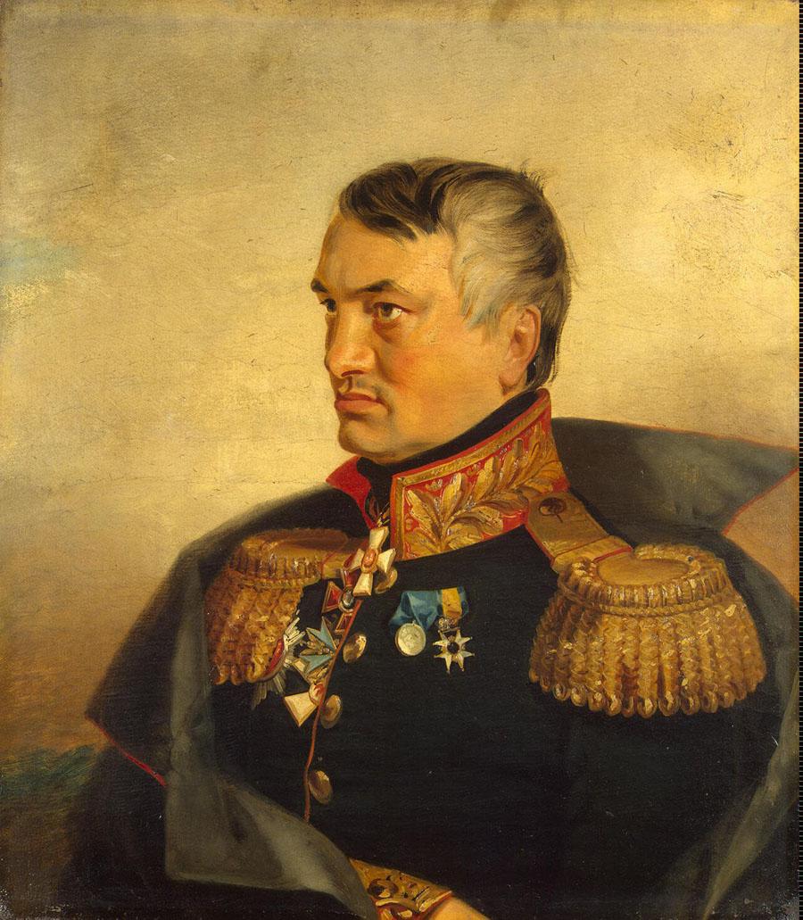 Джордж Доу.  Николай Васильевич Васильчиков (1781-1839) Военная галерея Зимнего дворца