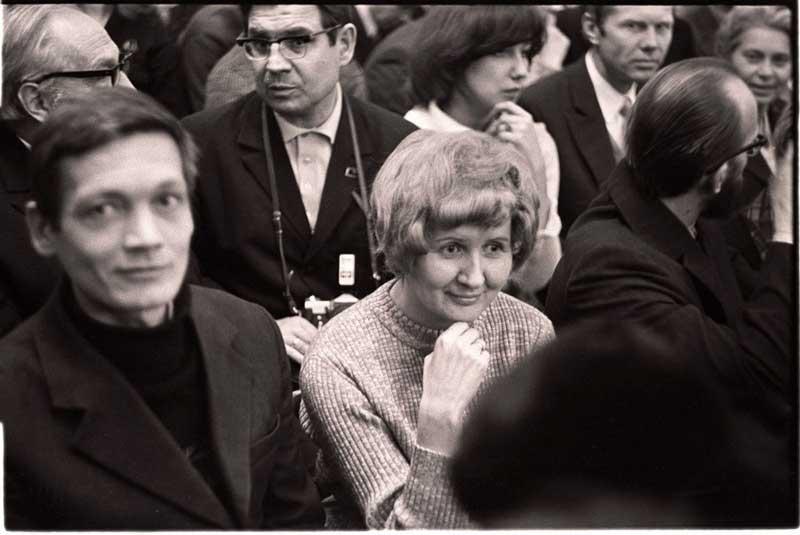 Э.В. Паршина. Рериховские Чтения. 1976 год.