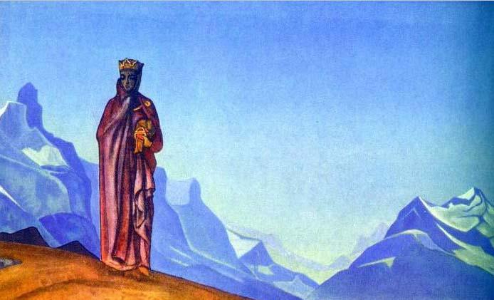Камень несущая (Держательница Мира).1933