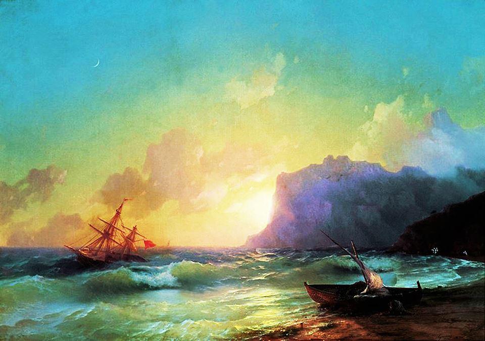И.К. Айвазовский. Коктебель. Утро. 1853