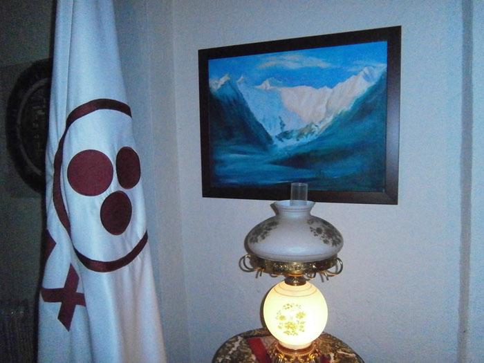 Фотографии В комнате Алисии, дома, в Мехико, предназначенной для медитации.