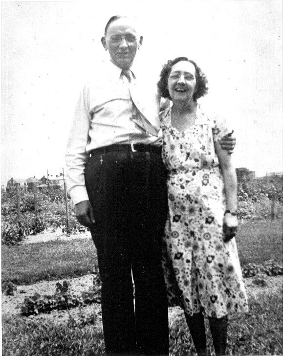 Эдгар и Гертруда Кейси. Семейное фото