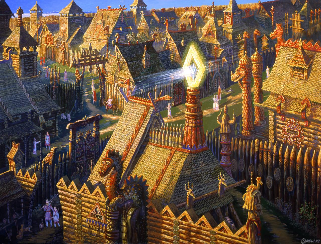 В городе князя Ящера