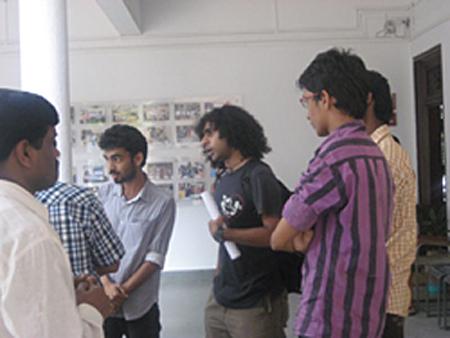 Студенты Колледжа Изобразительных Искусств