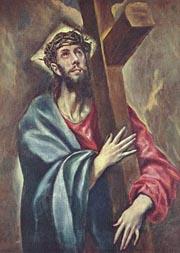 """Эль Греко. Несение креста. 1577. Прадо, Мадрид"""""""