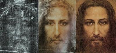 Лик с Туринской плащаницы Зримый образ Иисуса Христа явился, когда была сфотографирована представленная в 1898 на Парижской выставке религиозного искусства Туринская плащаница. Неожиданно для самого себя пораженный фотограф Секондо Пиа увидел, что на проявляющемся негативе открылся Лик, исполненный неземной красоты и благородства. Так плащаница Христа явила необъяснимое чудо – за тысячелетие до изобретения фотографии оказалась полномасштабным фотографически точным негативом изображения Спасителя.
