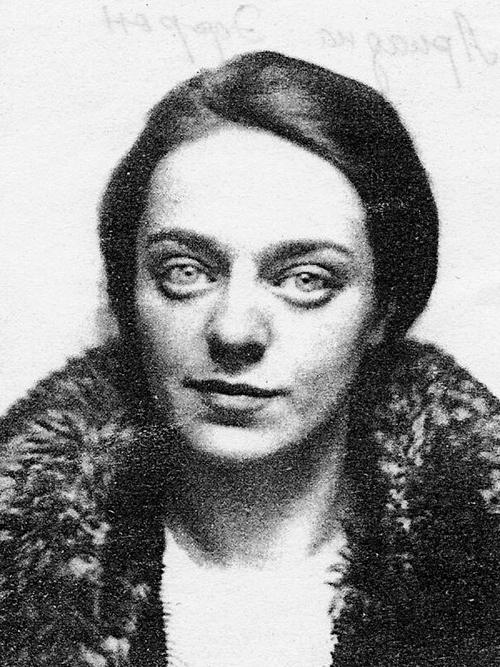 Ариадна Эфрон, дочь Марины Цветаевой