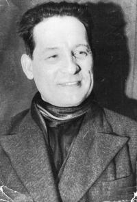 А.М. Топоров, 1940гг. - в ссылке в Казахстане, г.Талды-Курган.