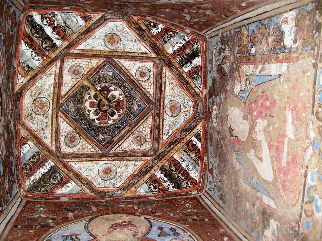 Внутренняя роспись чортена в монастыре Алчи