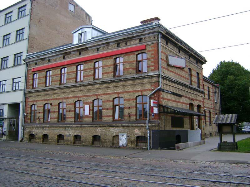 Дом в Риге на улице Кр.Барона 88 (квартира 13), где в конце 19 в. жил  дед Н.К.Рериха Фридрих Рерих с женою Дорис Пореп