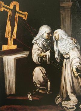 Рутилио Манетти. Стигматизация святой Екатерины Сиенской