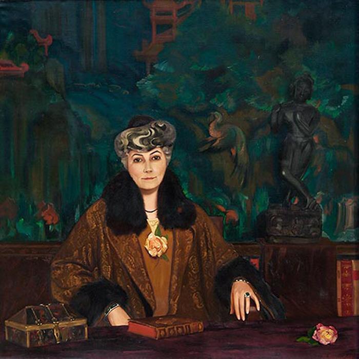 С.Н. Рерих. Портрет Елены Ивановны Рерих. 1937