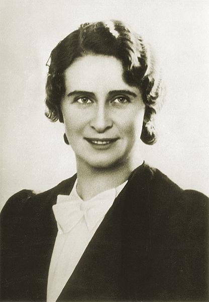 Доктор философии Варшавского  университета Елена Полонская. 1934 г.