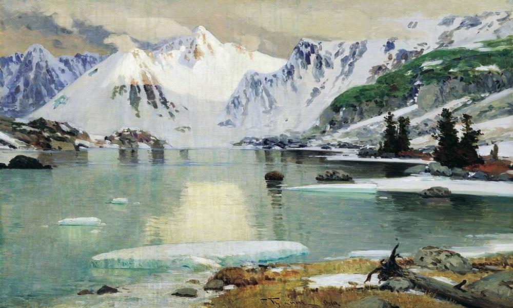 Чорос-Гуркин. Озеро горных духов.