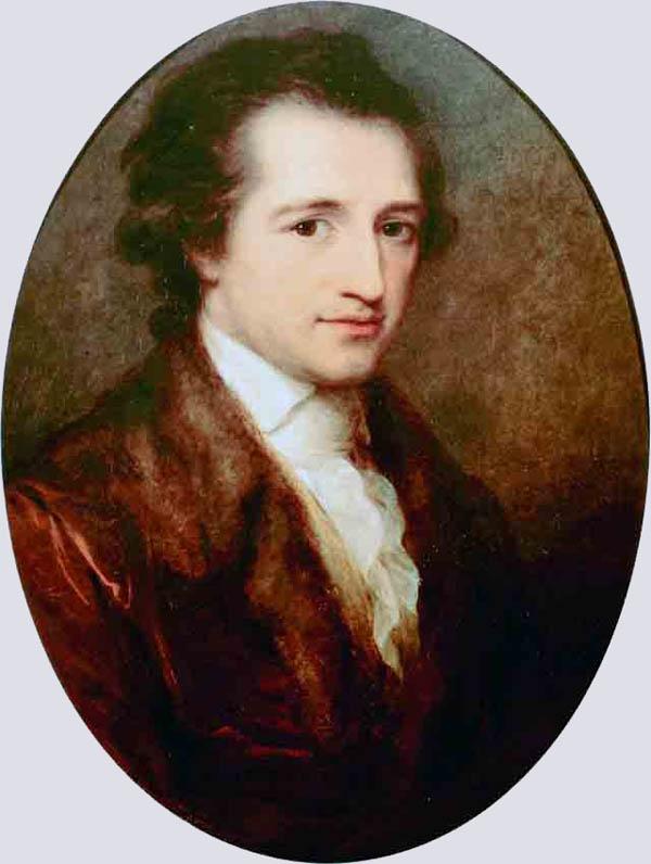Иоганн Вольфганг фон Гёте 28 августа 1749, Франкфурт-на-Майне
