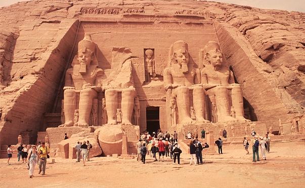 Храм Рамзеса второго в Абу-Симбеле