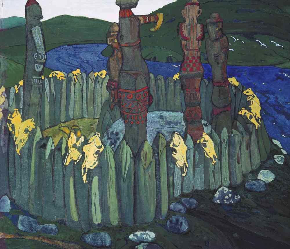 Идолы. (эскиз) 1901