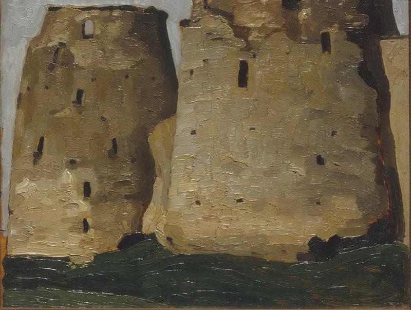 Изборск. Башни. Обновление.1903г.