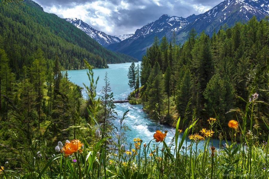 Кучерлинское озеро.