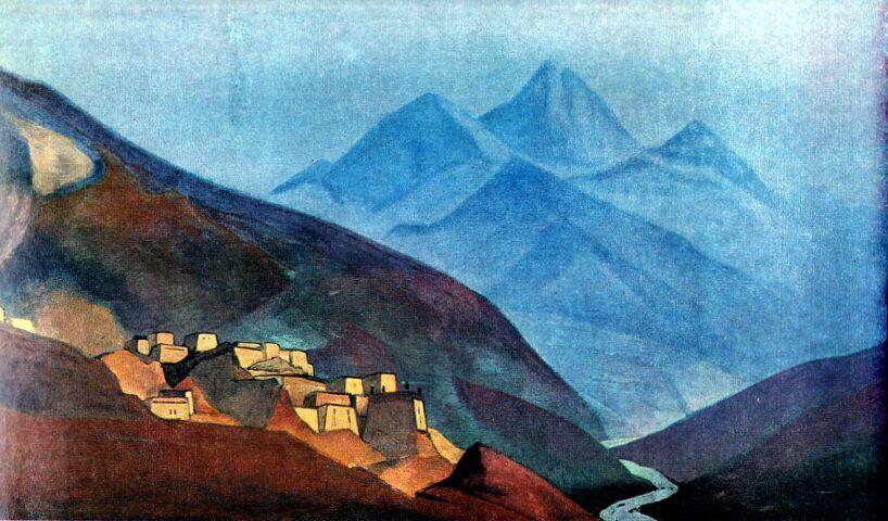 Лахуль. [Лахул. Гималаи]. 1932