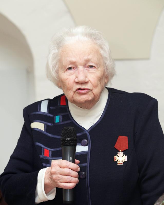 Генеральный директор Музея имени Н.К. Рериха Людмила Васильевна Шапошникова.
