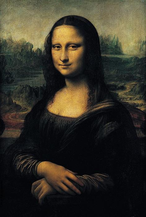 Леонардо да Винчи. Мона-Лиза (Джоконда) 1503-1505. Лувр. Париж.