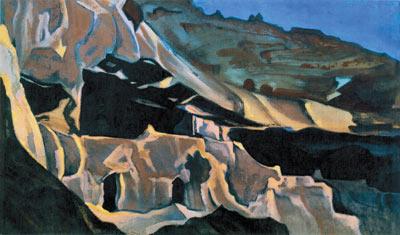 Н.К. Рерих. Эллора. 1938