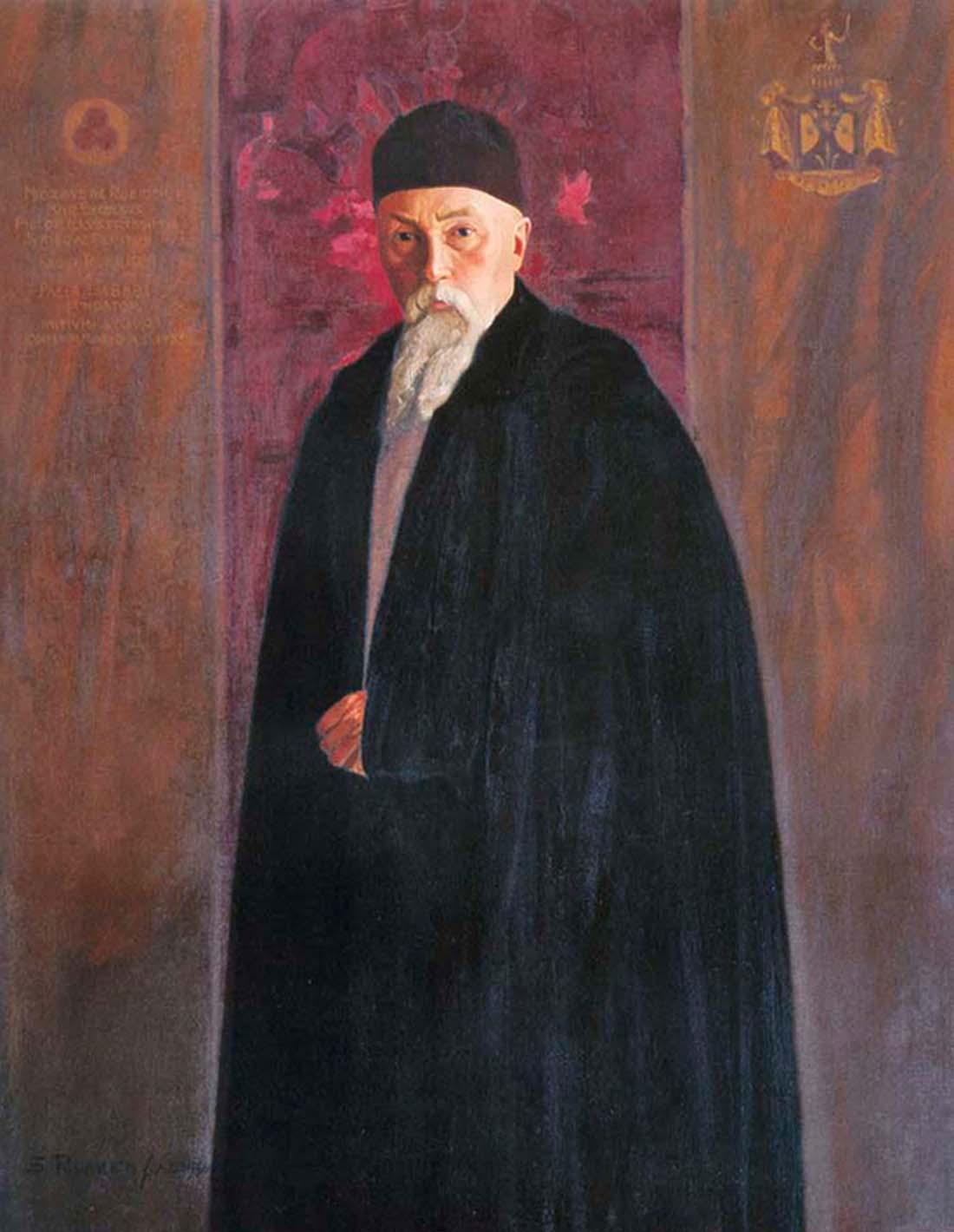 С.Н. Рерих. Портрет Н.К.Рериха. 1936